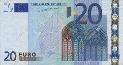 20 Euros ITALIE  2002 €.120.07 TTB+
