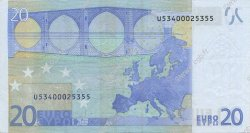 20 Euros FRANCE  2002 €.120.10 SUP