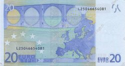 20 Euro EUROPE  2002 €.120.16 SUP+