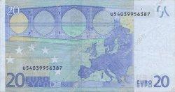 20 Euro EUROPE  2002 €.120.21 TTB+