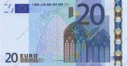 20 Euro EUROPE  2002 €.120.21 SUP+