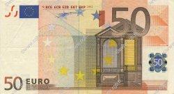 50 Euros IRLANDE  2002 €.130.08 SUP