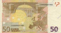 50 Euros IRLANDE  2002 €.130.08 TTB