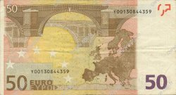 50 Euro EUROPE  2002 €.130.14 TTB