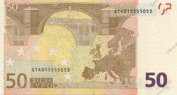 50 Euros ITALIE  2002 €.130.18 NEUF