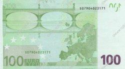 100 Euros ITALIE  2002 €.140.05 SUP+