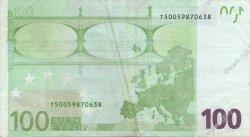 100 Euro EUROPE  2002 €.140.06 pr.TTB