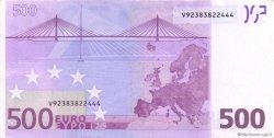500 Euros ESPAGNE  2002 €.160.07 SUP