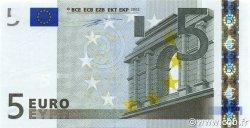 5 Euro EUROPE  2002 €.100.09 SPL