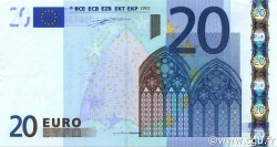 20 Euro EUROPE  2002 €.120.01 SUP+