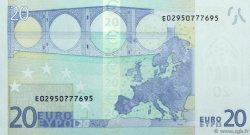 20 Euros SLOVAQUIE  2002 €.120. NEUF