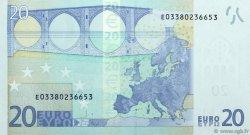 20 Euro EUROPE  2002 €.120. NEUF