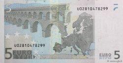 5 Euro EUROPE  2002 €.100.21 NEUF