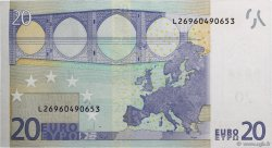 20 Euro EUROPE  2002 €.120.18 NEUF