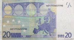20 Euros ALLEMAGNE  2002 €.120. TTB