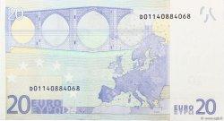 20 Euros ESTONIE  2002 €.120 NEUF