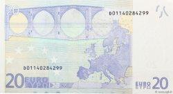 20 Euros ESTONIE  2002 €.120 pr.NEUF