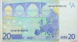 20 Euro EUROPE  2002 €.120.27 TB