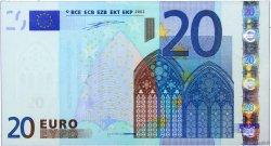 20 Euros FRANCE  2002 €.120.10 SPL