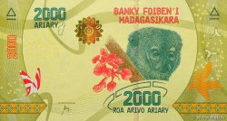 2000 Ariary MADAGASCAR  2017 P.New NEUF