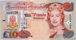 10 Pounds Sterling GIBRALTAR  2002 P.30 NEUF