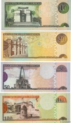Lot de 4 Billets RÉPUBLIQUE DOMINICAINE  2003 P.LOT SUP à SPL