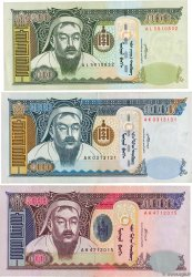 Lot de 3 Billets  MONGOLIE  2003 P.LOT TTB