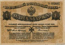 1 Mark RUSSIE Mitau 1919 PS.0226a TTB
