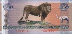 SOMALILAND p new 1000 SHILLING 2006 UNC