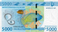 5000 Francs POLYNESIA, FRENCH OVERSEAS TERRITORIES  2014 P.07 XF