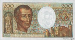 200 Francs MONTESQUIEU FRANCE  1981 F.70.01 XF-