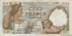 100 Francs SULLY FRANCE  1939 F.26.07 pr.TTB