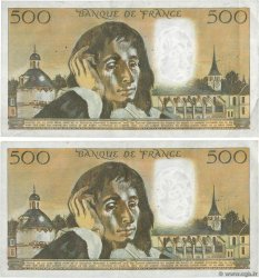 500 Francs PASCAL Lot FRANCE  1976 F.71.14 pr.TTB