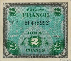 2 Francs DRAPEAU FRANCE  1944 VF.16.01 SPL+