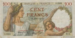 100 Francs SULLY FRANCE  1939 F.26.12 B+
