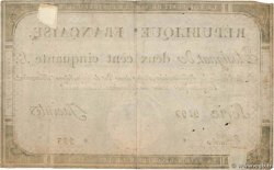 250 Livres FRANCE  1793 Ass.45a TB