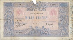1000 Francs BLEU ET ROSE FRANCE  1923 F.36.39 B