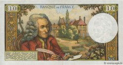 10 Francs VOLTAIRE FRANCE  1971 F.62.49 pr.SUP