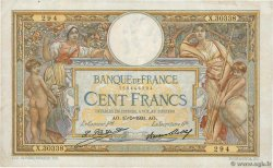 100 Francs LUC OLIVIER MERSON grands cartouches FRANKREICH  1931 F.24.10 fSS