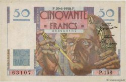 50 Francs LE VERRIER FRANCE  1950 F.20.15 pr.TTB
