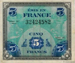 5 Francs DRAPEAU  FRANCE  1944 VF.17.01
