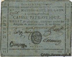15 Sous FRANCE régionalisme et divers LAON 1791 Kc.02.098 TTB