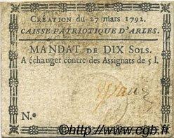 10 Sols FRANCE régionalisme et divers ARLES 1792 Kc.13.013 TTB