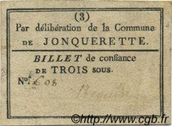 3 Sous FRANCE régionalisme et divers Jonquerette 1792 Kc.13.066 TTB