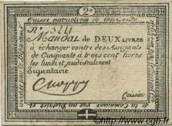 2 livres FRANCE régionalisme et divers MARSEILLE 1792 Kc.13.089 TTB+