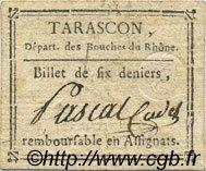 6 Deniers FRANCE régionalisme et divers Tarascon 1792 Kc.13.152b TTB