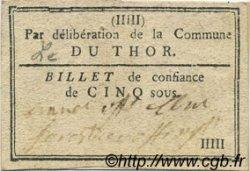 5 Sous FRANCE régionalisme et divers Le Thor 1792 Kc.13.162 TTB+