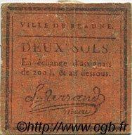 2 Sols FRANCE régionalisme et divers BEAUNE 1792 Kc.21.012 TTB