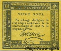 20 Sous FRANCE régionalisme et divers SAINT JEAN DE LOSNE 1792 Kc.21.046x SUP