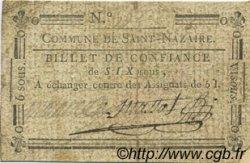 6 Sous FRANCE régionalisme et divers Saint Nazaire En Royans 1792 Kc.26.186 TB+